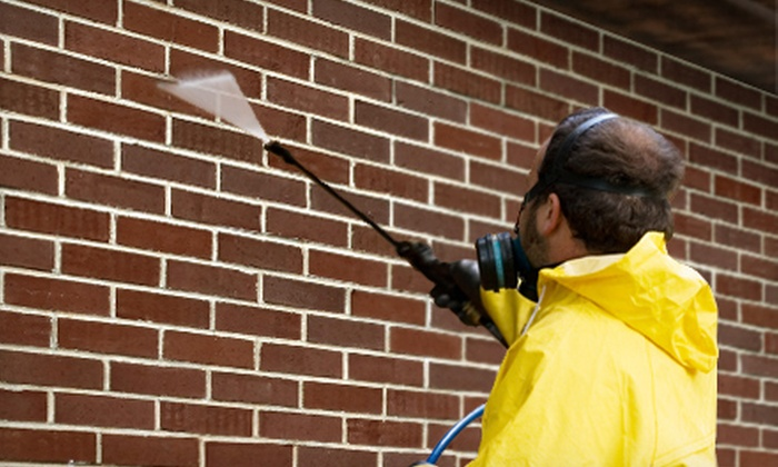 Otte LLC Custom Contractors - Washington DC: Exterior Power Washing for a One- or Two-Story House from Otte LLC Custom Contractors (Up to 59% Off)