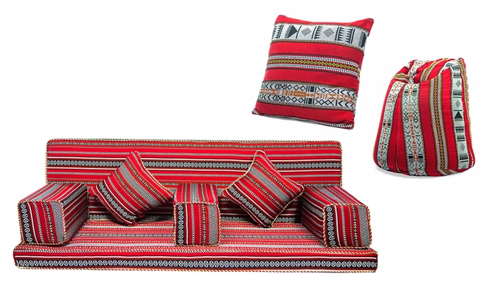 Authentic Arabian Style Majlis Sets Groupon Goods