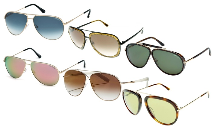 71fa9b1baa2 Up To 61% Off Tom Ford Aviator-Style Sunglasses