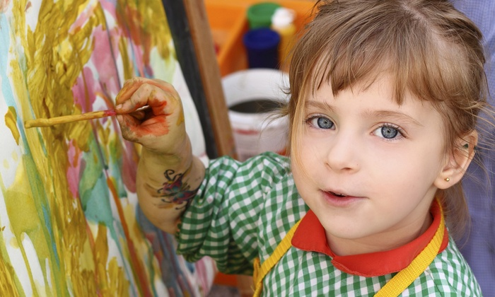 young artists club union city two or four one hour painting classes for - Kids Painting Images