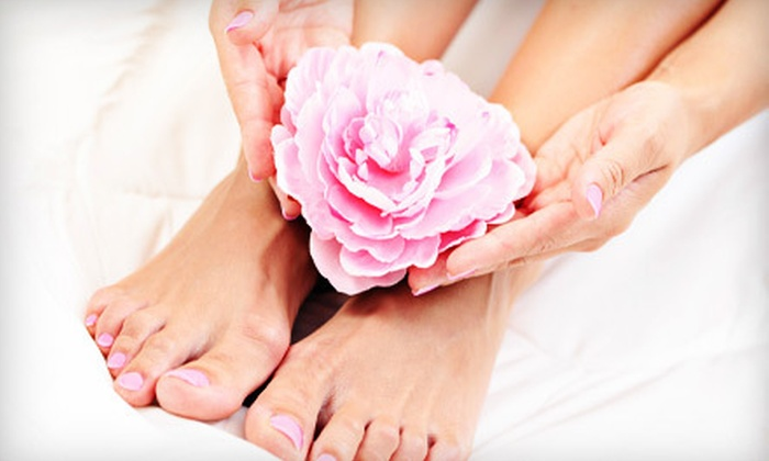 The Nail Therapist - Marietta: One or Two Manicures and Spa Pedicures at The Nail Therapist in Marietta (Up to 56% Off)