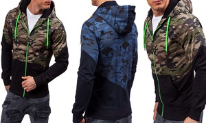 Sweat pour homme camouflage