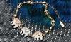 Triple Elephant Bracelet with Swarovski Elements: Triple Elephant Bracelet with Swarovski Elements