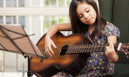 Four Private Music Lessons from The Green Room Arts (55% Off)