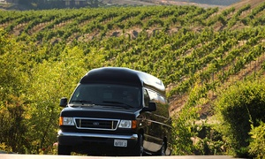 A Vineyard Tour of Temecula: Wine Tour with Tastings for Six from A Vineyard Tour of Temecula (46% Off)