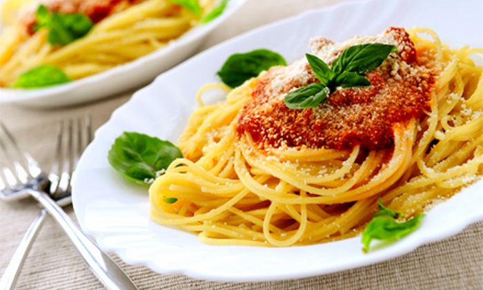 Pasta E Pasta - New Baltimore: $22 for a Take-Home Italian Pasta Meal with Soup, Pasta, Ravioli, and Pasta Sauce from Pasta E Pasta ($45 Value)