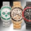 Aubert Freres Ramsay Men's Stainless-Steel Chronograph Watch