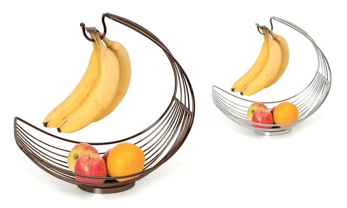 Fruit Basket with Banana Holder   Groupon Goods