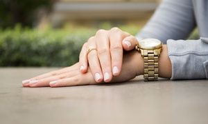 Janelle: $25 for a Spa Manicure with an Organic Sugar Scrub, Paraffin Wax, and Massage at Janelle ($50 Value)