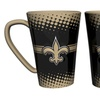 Set of Two New Orleans Saints Ceramic Latte Mugs