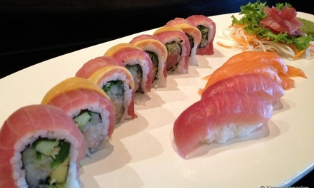 $18 for $30 Worth of Sushi and Asian Dinner Cuisine for Two at Kenny's Pan Asian Cuisine & Sushi Bar