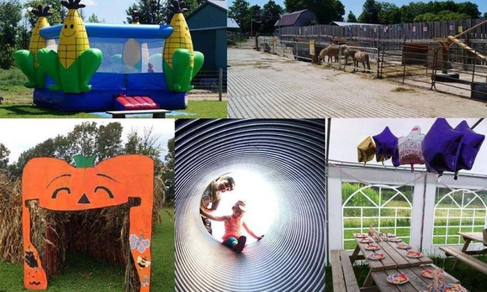 Hewitts Fun Farm - Coldwater: Up to 58% Off Entry to Fun Farm at Hewitts Fun Farm