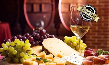 3 Std. Weinprobe mit Aperitif, Käse und Brot für bis zu 2 Personen bei Vinolivo ab 19,90 € (bis zu 67% sparen*)