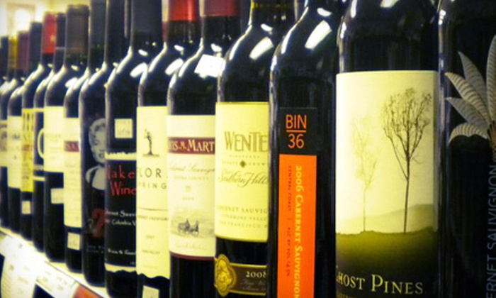 Fine Wines & Liquors - Lisle: $49 for Six Bottles of Assorted Wine at Fine Wines & Liquors in Lisle (Up to $100.94 Value)