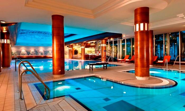 Radisson Blu Parkhotel & Conference Centre Dresden Radebeul - Radisson Blu Parkhotel & Conference Centre Dresden Radebeul: Dresden: 3-4 Tage für Zwei inkl. Frühstück, Begrüßungsgetränk und 1000 qm SPA im 4* Radisson Blu Park Hotel