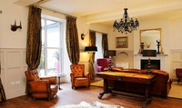 Edinburgh: 1 or 2 Nights for Two with Breakfast, Bottle of Prosecco and Afternoon Tea at Brooks Guesthouse