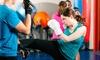 Kaboom Brazilian Jiu-Jitsu - Newton: 5 or 10 Kick-Boxing Classes Including Gloves at Kaboom Brazilian Jiu-Jitsu (Up to 80% Off)