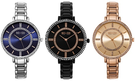 SO & CO New York Women's Classic Bracelet Watch