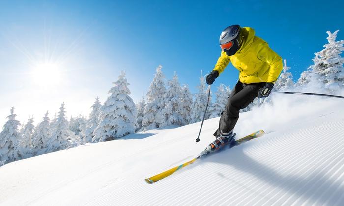 Alpine Mountain Ski & Snow Tubing Center - Alpine Mountain: Ski/Snowboard Lift Ticket for One, Two, or Four or Group Ski Lesson Package at Alpine Mountain Resort (Up to 51% Off)