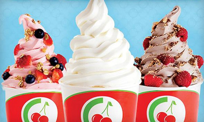 CherryBerry - Northeast Tampa: Two $10 Groupons for Frozen Yogurt at CherryBerry ($20 Value)