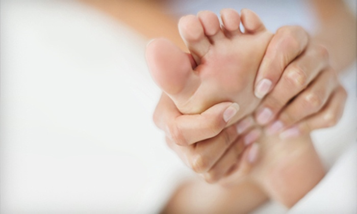 Positive Touch Reflexology at the Shoe Market - Greensboro: One or Three Reflexology Foot Massages with Soak, Hot Stones, and Aromatherapy at Positive Touch Triad (Up to 62% Off)