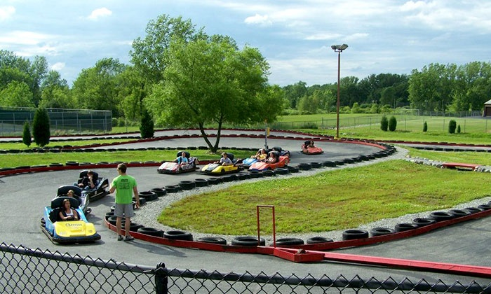 Zig-E's Funland - St. John: Five-Attraction Pass for One, or a Four-Attraction Pass for Two or Four at Zig-E's Funland (Up to 53% Off)