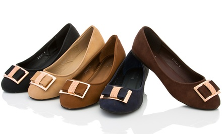 Lady Godiva Silvi Ballet Flats. Multiple Colors Available.