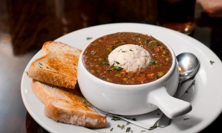 Irish Pub Food for Two or Four People at Dublin's Pass Irish Pub & Restaurant (Up to 45% Off)