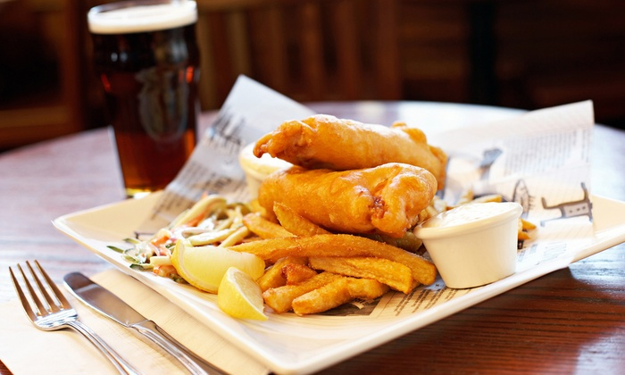 Lucky Dublin - Carteret: Pub Food and Drinks at Lucky Dublin (Up to 52% Off). Two Options Available.