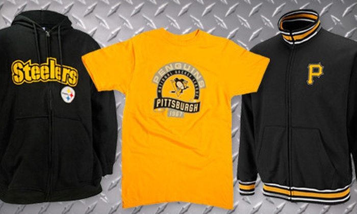 The Pittsburgh Fan - Northshore: Sports Apparel and Souvenirs at The Pittsburgh Fan (Half Off). Two Options Available.