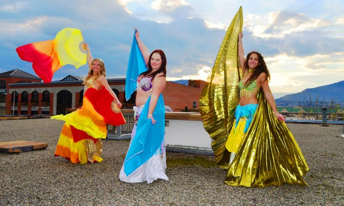 Boundless Belly Dance - Penticton: 5 or 10 Belly-Dancing Classes at Boundless Belly Dance (Up to 57% Off)