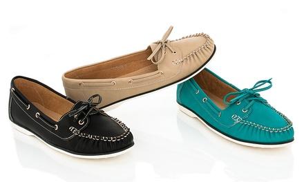Lady Godiva Boat Shoes