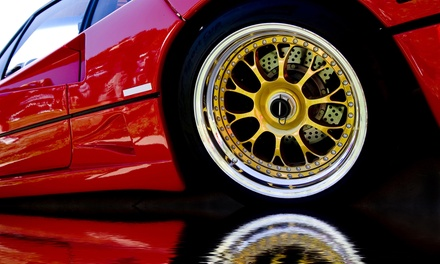 Protective, Colorful Plasti Dip Coating for Four Small or Large Rims at Ottawa Auto Spa (Up to 50% Off)