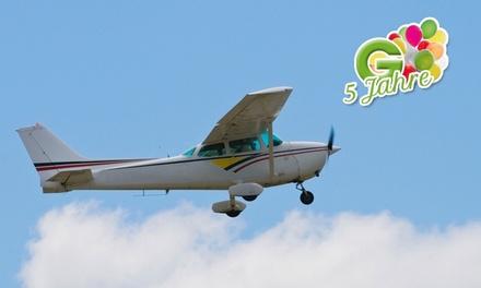 15 Min. Gästekunstflug im Zweisitzer mit der SPREE FLUG für 129 €