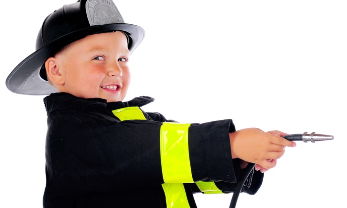 FireZone - Schaumburg: 5 or 10 Drop-In Play Sessions, or a 90-Minute Firefighter Birthday Party for Up to 14 at FireZone (Up to 61% Off)