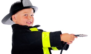 FireZone: 5 or 10 Drop-In Play Sessions, or a 90-Minute Firefighter Birthday Party for Up to 14 at FireZone (Up to 61% Off)
