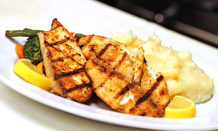 O'King Grille Restaurant - North Miami: Cajun and Creole Cuisine at O'King Grille Restaurant (Up to 48% Off). Two Options Available.