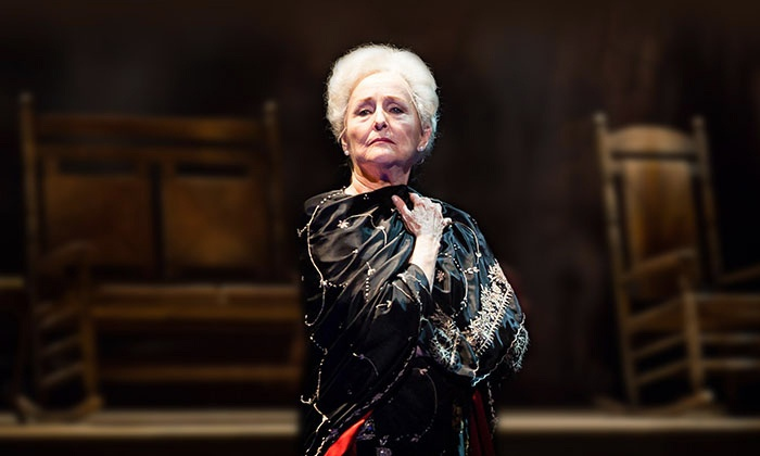 "A Coffin in Egypt - Harris Theater for Music and Dance: Frederica von Stade in ""A Coffin in Egypt"" at Harris Theater on April 25 or 29 or May 1(Up to 66% Off)"
