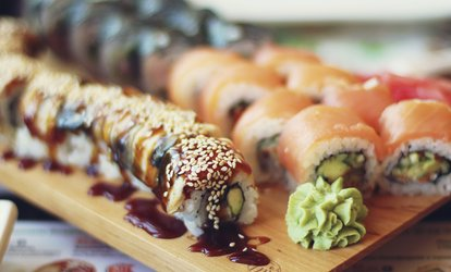 image for $15 for Sushi, Nigiri, & Hibachi at Sushi Village (Up to 25% Off).  Two Options Available.