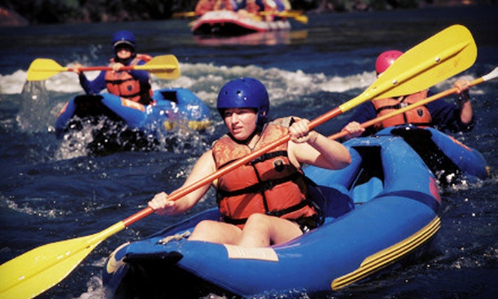U.S. Rafting - West Forks: Half-Day Ducky Trip on the Kennebec River for One or Two from U.S. Rafting (Up to 57% Off)