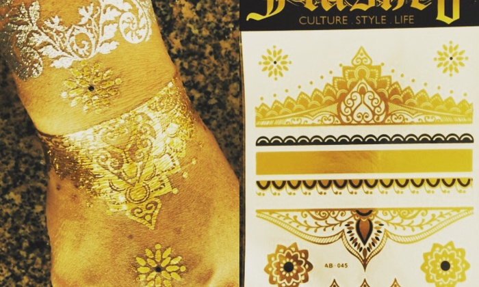 Flashed Ink - Round Rock: Up to 50% Off temporary tattoos for a party at Flashed Ink