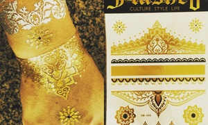 Flashed Ink: Up to 50% Off temporary tattoos for a party at Flashed Ink