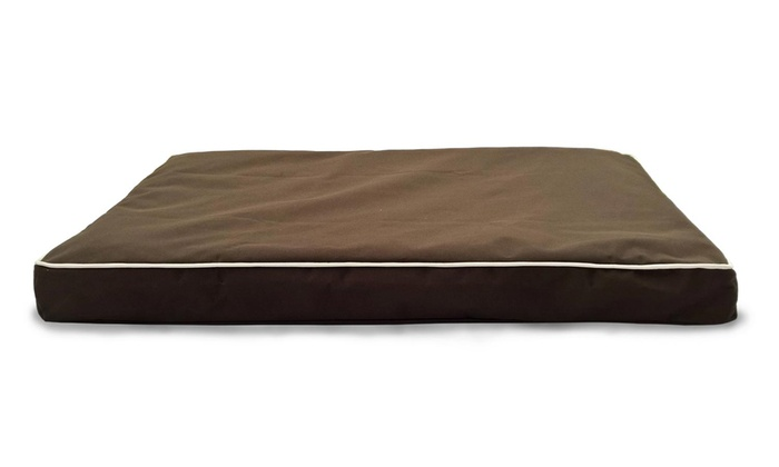 Weatherproof Indoor Outdoor Orthopedic Pet Beds Groupon