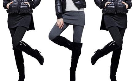 Cotton Stretch Skirt Leggings for £6.98