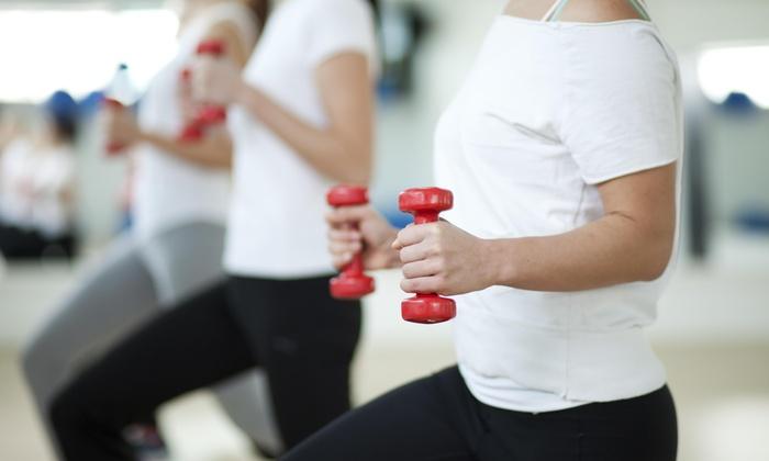 Hooked On Fitness LLC - Kensington: Four Weeks of Fitness Classes at Hooked On Fitness Llc (65% Off)