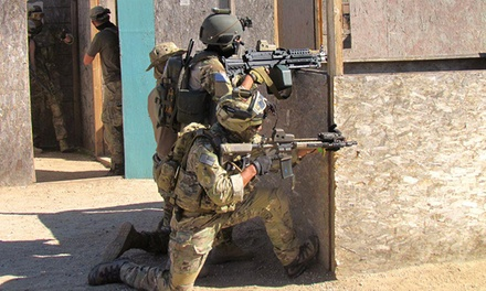 All-Day Admission for 1 or Airsoft Outing with Gear and Ammo for 1 or 4 at Jericho Airsoft Park (Up to 55% Off)
