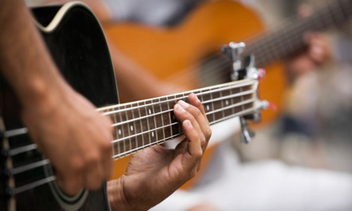 Music On The Westside - Stonebridge Pointe: Six 60-Minute Small-Group Guitar Lessons or $45 for $100 Worth of Private Guitar Lessons at Music On The Westside