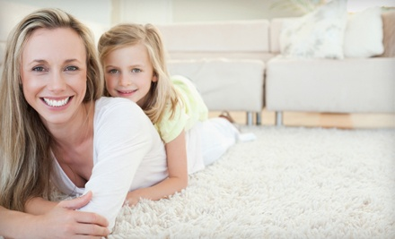 $39 for Carpet Cleaning in Three Rooms and Air-Duct-System Inspection from Breathe-Rite ($164 Value)