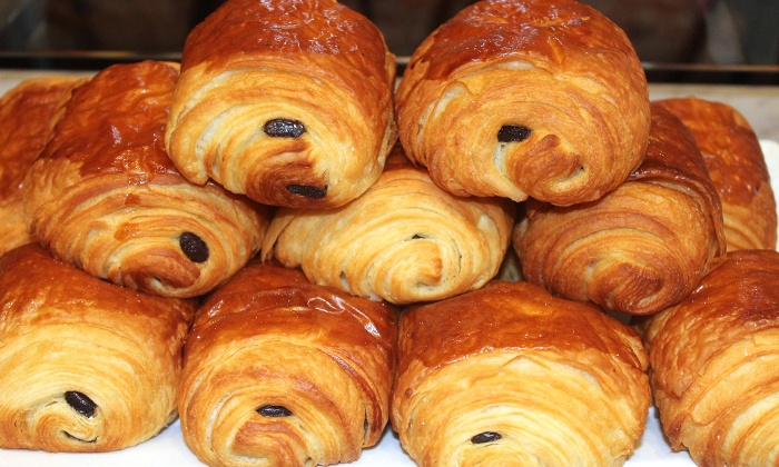 Choc O Pain - Multiple Locations: Baked Goods, Chocolate or Plain Croissants, or Catering at Choc O Pain (Up to 43% Off)