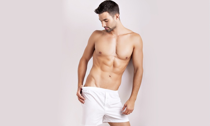 Posh Salon and Spa - Lake Stevens: $29 for a Men's Back and Shoulder Wax or Chest and Shoulder Wax at Posh Salon and Spa ($65 Value)